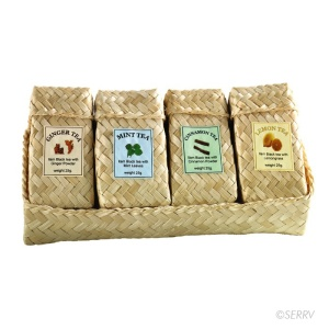 SERRV tea basket