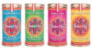 Bhakti 4-dry-tea-tins